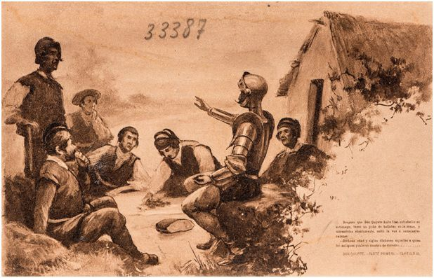 11.- Discurso de don Quijote a los cabreros (DQ I, 11)