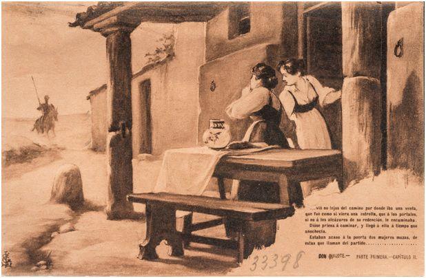 2.- Don Quijote llega a la venta (DQ I, 2)