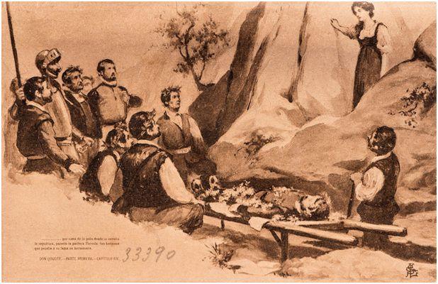14.- El entierro de Grisóstomo (DQ I, 14)