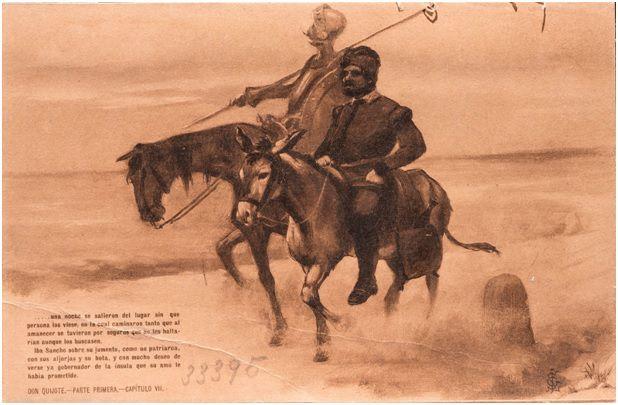 7.- Segunda salida de don Quijote (DQ I, 7)