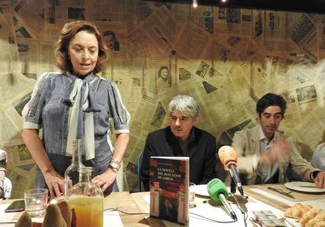 Ana Gavín, Juan Bonilla y Nacho Garmendía