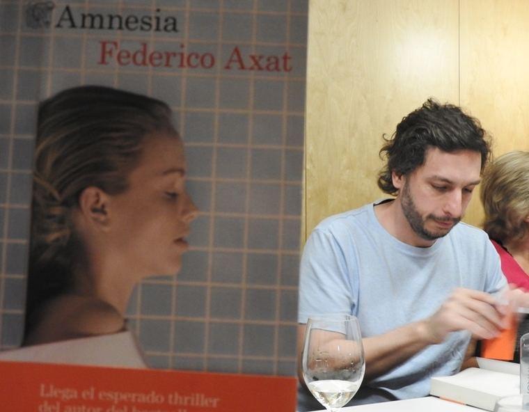 Federico Axat y su 'Amnesia'