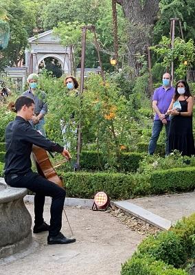 Intérprete en el Real Jardín Botánico