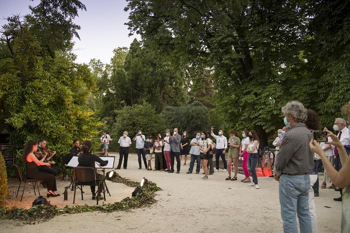 Paseos musicales del Jardín Botánico de Madrid