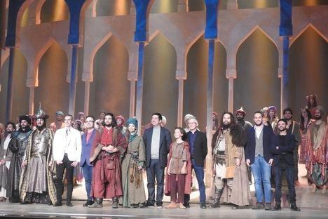 Quedan pocos día para el estreno mundial del musical 'El Médico', basado en la famosa novela histórica de Noah Gordon
