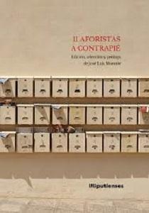 """11 aforistas a contrapié"", de José Luis Morante"