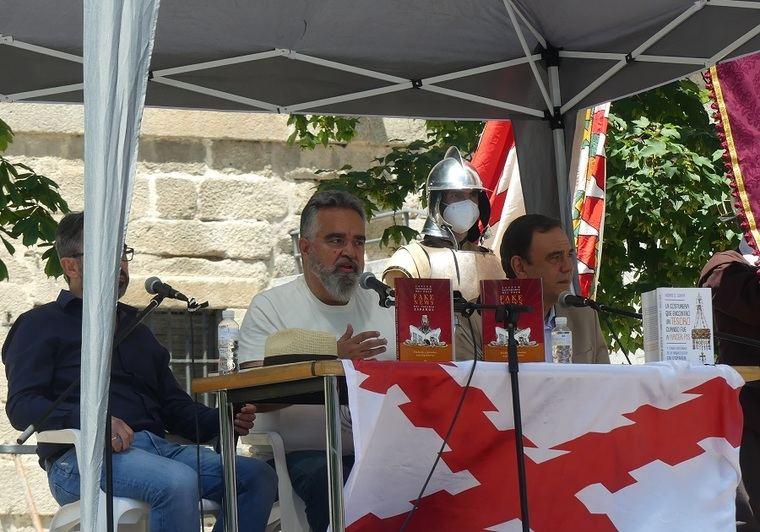 Jesús G. Calero, Javier Santamarta y Vicente G. Olaya