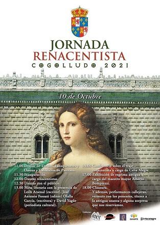 Cogolludo celebrará una Jornada Renacentista, el próximo domingo 10 de octubre