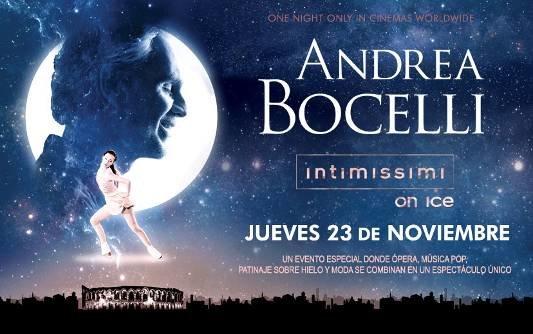 Andrea Bocelli y el mejor patinaje sobre hielo en cines en A Legend of Beauty