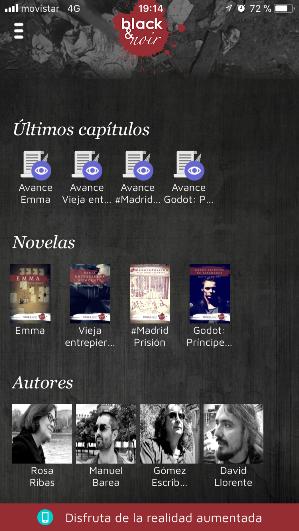 Black & Noir publica las nuevas novelas de Rosa Ribas, David Llorente, Paco Gómez Escribano y Manuel Barea