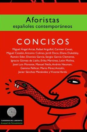 VV.AA. Aforistas españoles contemporáneos. Antólogo, Mario Pérez Antolín