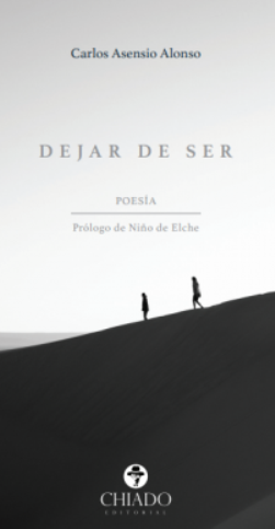 Carlos Asensio Alonso presenta su poemario \'Dejar de ser\'