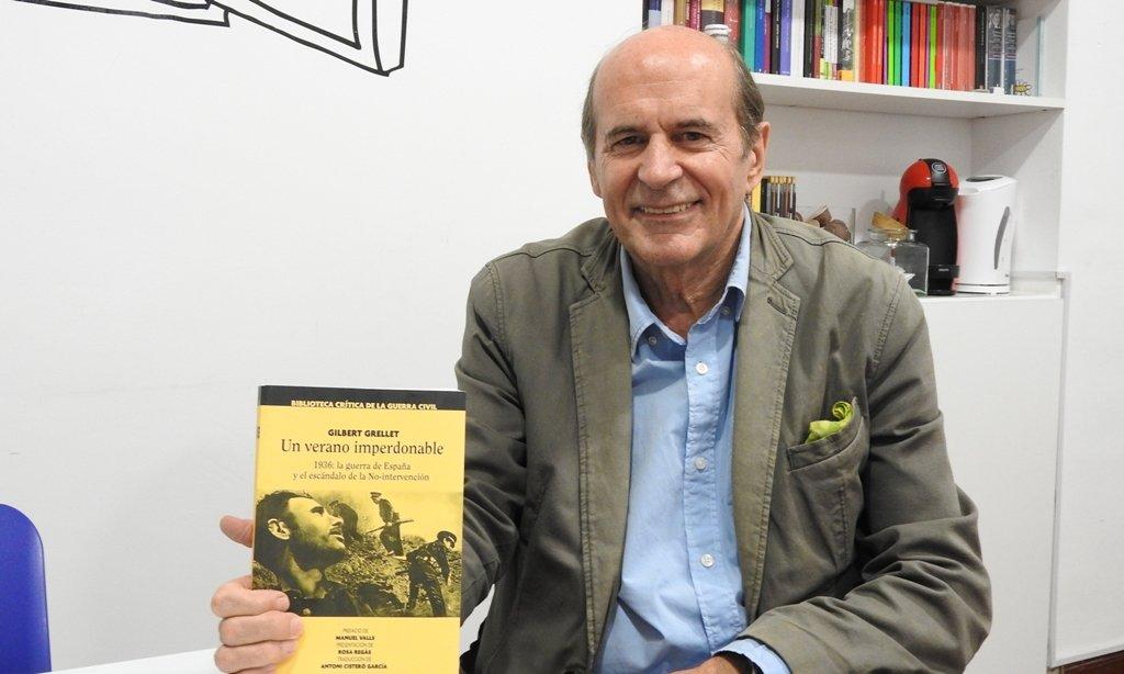 """Gilbert Grellet: """"Los Aliados tuvieron un comportamiento deleznable con la República Española"""""""