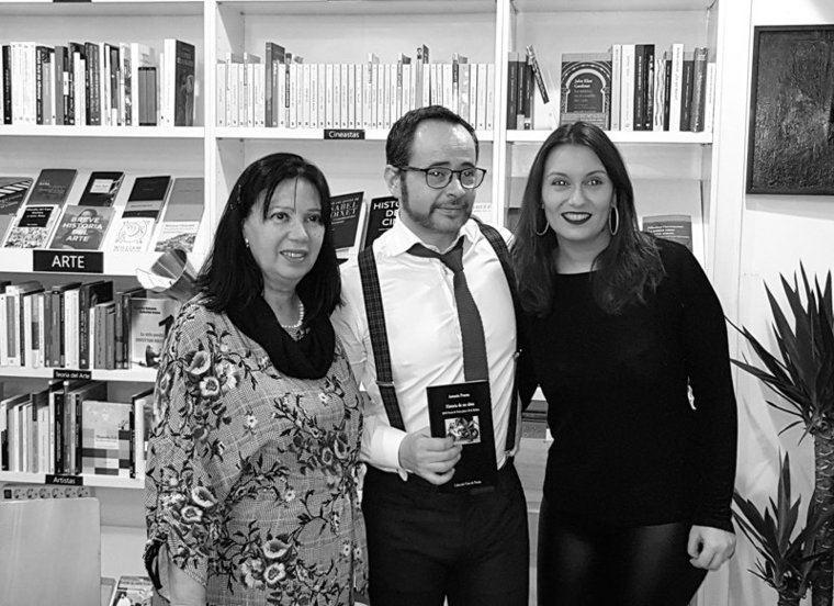 Mila Villanueva, Antonio Praena y Bibiana Collado