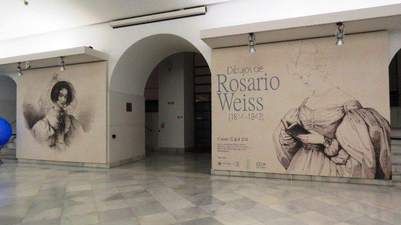 Dibujos de Rosario Weiss se exponen en la Biblioteca Nacional de España (BNE)