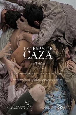 El actor Borja Maestre estrena \'Escenas de caza\' en el Teatro Pavón Kamikaze
