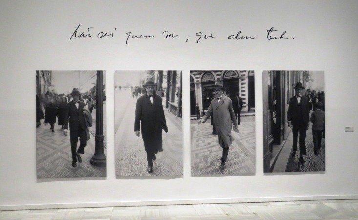 """Inaugurada la exposición: """"Pessoa. Todo arte es una forma de literatura"""""""