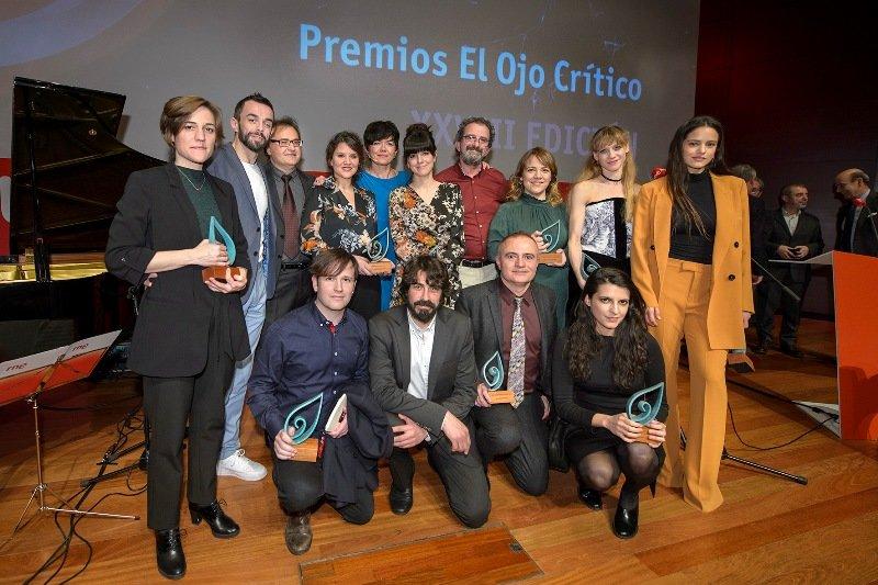 RNE entrega los Premios 'El Ojo Crítico' 2017 a ocho jóvenes promesas de la cultura y un premio especial a Joan Matabosch