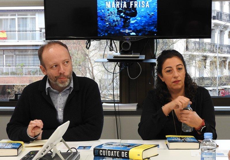 Alberto Marcos y María Frisa