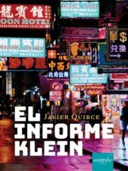 El burgalés Javier Quirce debuta con la novela negra 'El informe Klein'