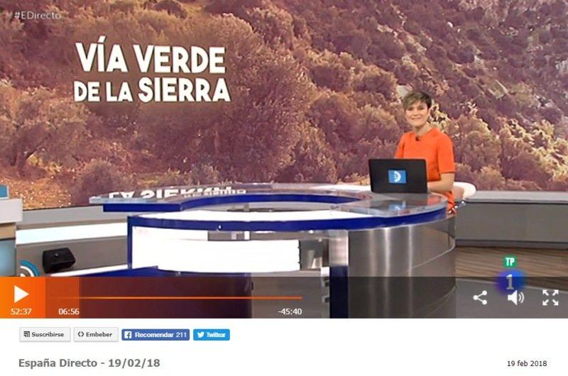 """Vías Verdes en """"España Directo"""""""