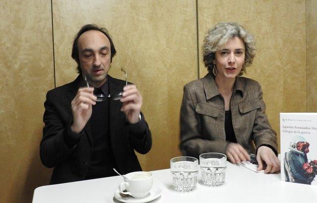 Agustín Fernández Mallo y su editora