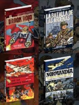 Se publican tres nuevos títulos de Wayne Vansant en la colección Historia Gráfica