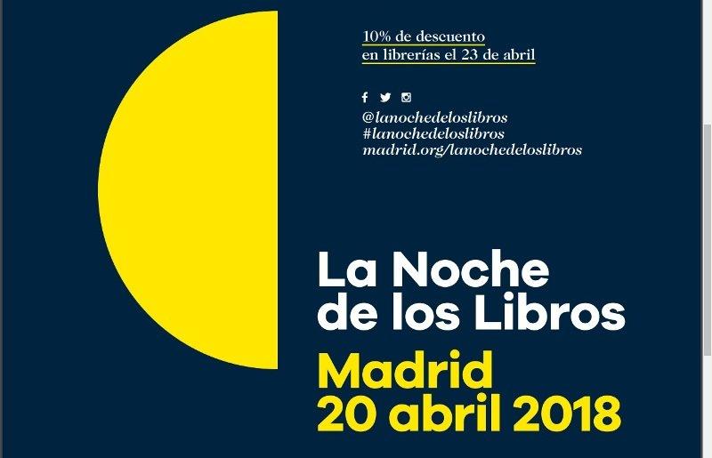 Muñoz Molina, Almudena Grandes, James Rhodes y Philip Pullman en La Noche de los Libros 2018
