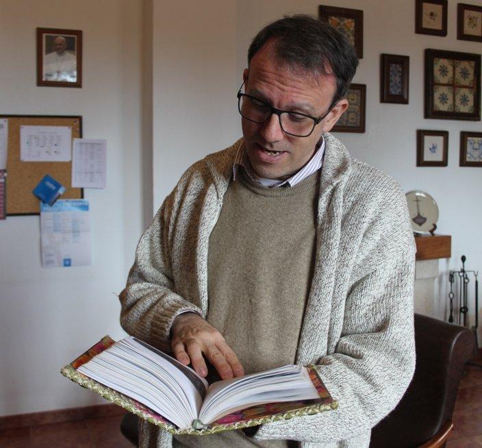 Ignacio Husillos, la fuente del Desierto de las Palmas: «Si no hubiera sido fraile, habría sido almacenista»