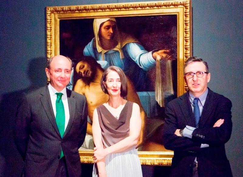 """Se inaugura la exposición """"In Lapide Depictum. Pintura italiana sobre piedra, 1530-1555"""""""