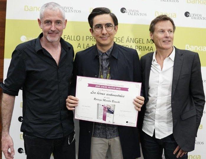 Rodrigo Murillo Bianchi, ganador del I Premio José Ángel Mañas-Nuevos Talentos 2018 con su ópera prima \'Los héroes sentimentales\'