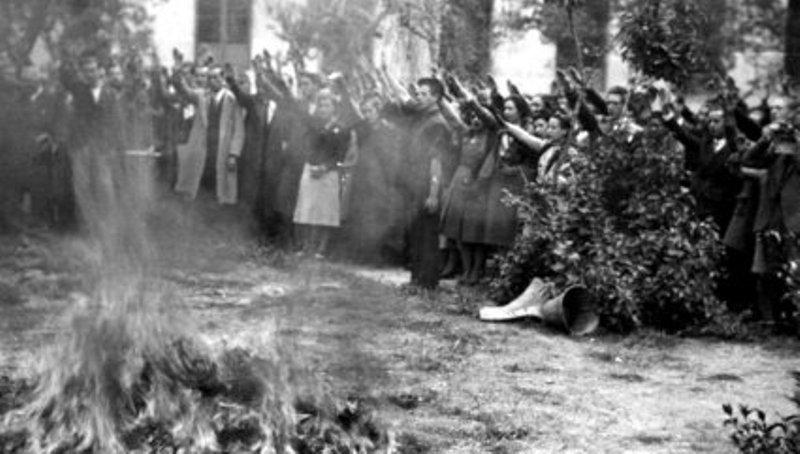 """El """"bibliocausto"""" del 30 de abril de 1939 en Madrid"""