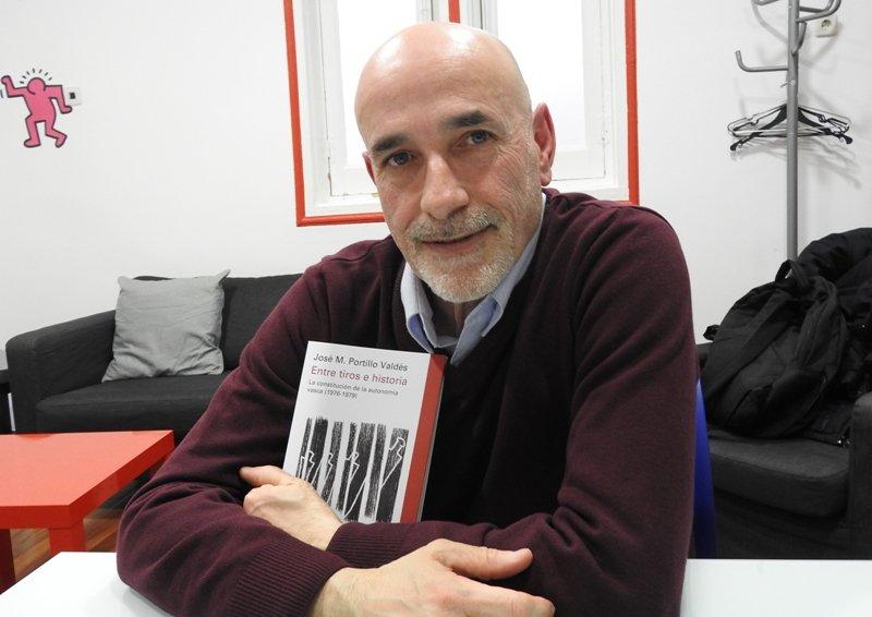 """José M. Portillo Valdés: """"Hay mucho que cambiar en nuestra constitución"""""""