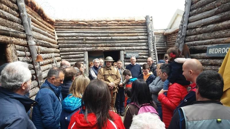 El Grupo de Recreación Histórica del Certamen invitado a participar en la gran conmemoración del final de la Primera Guerra Mundial