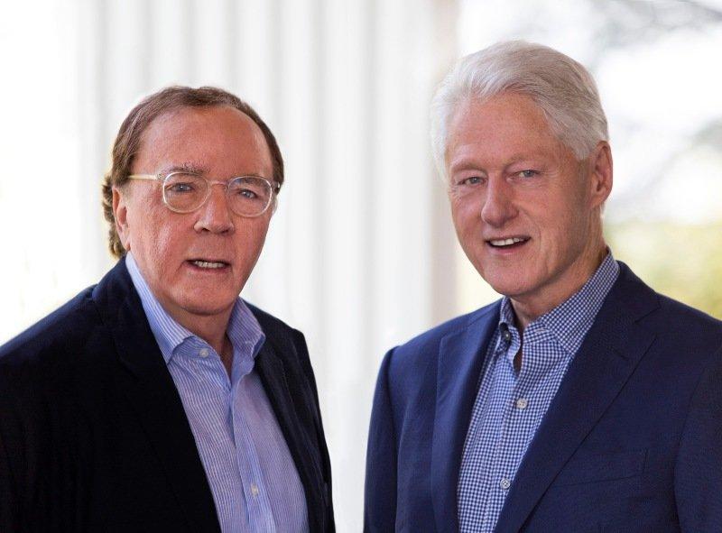 Bill Clinton se alía con James Patterson para escribir su primera novela,