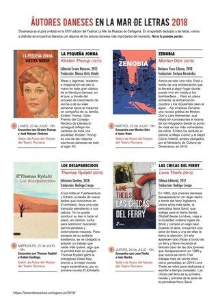 La literatura danesa se abre al español en La Mar de Músicas