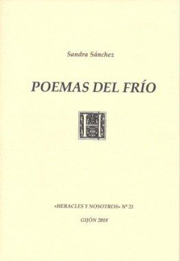 """Sandra Sánchez publica su segundo libro: """"Poemas del frío"""""""