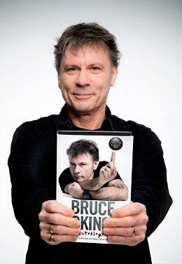 \'¿Para qué sirve este botón?\', la autobiografía de Bruce Dickinson, el vocalista y líder de Iron Maiden