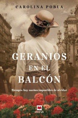 \'Geranios en el balcón\', el debut de Carolina Pobla con una historia homenaje a sus abuelos