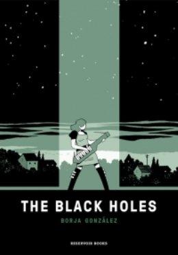 \'The Black Holes\', la nueva novela gráfica de Borja González Hoyos