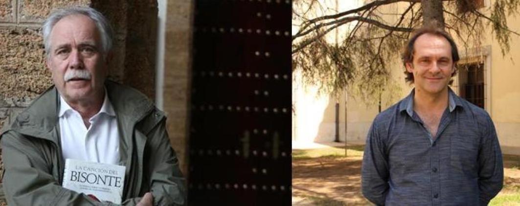 """Sebastián Roa y Antonio Pérez Henares en el VII Certamen Internacional de Novela Histórica """"Ciudad de Úbeda"""""""