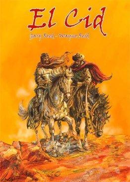 \'El Cid\', en cómic, visto por los estadounidenses Gary Reed y Wayne Reid