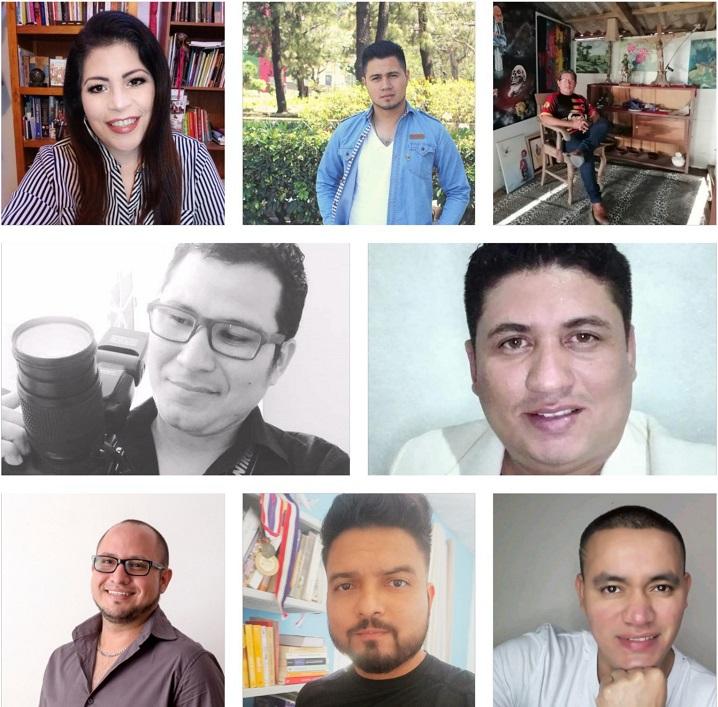 Escritores participantes
