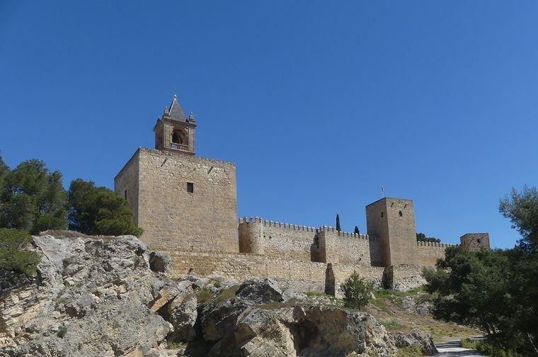 Alcazaba de Antequera, recientemente se descubrió un huerto almohade casi a los pies de las murallas