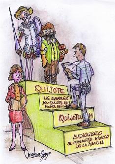 Cuatro pasos para alcanzar a leer el Quijote