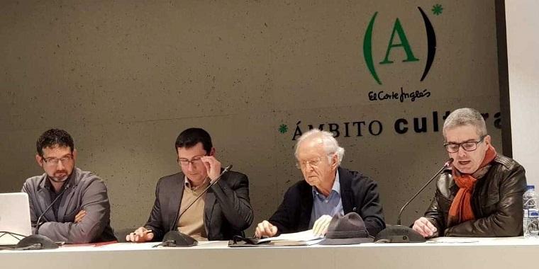 José Antonio Olmedo, Gregorio Muelas, Vicente Barberá y Toni Alcolea