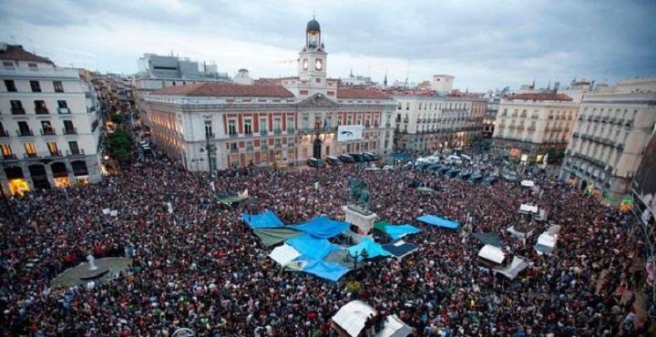 15-M en la Puerta del Sol