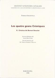 Les quatre grans cròniques. II. Crònica de Bernat Desclot