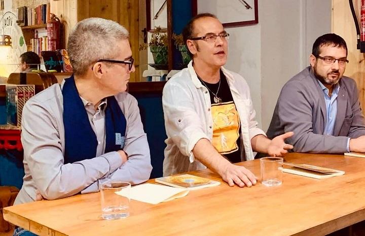 Toni Alcolea, César Márquez y José Antonio Olmedo