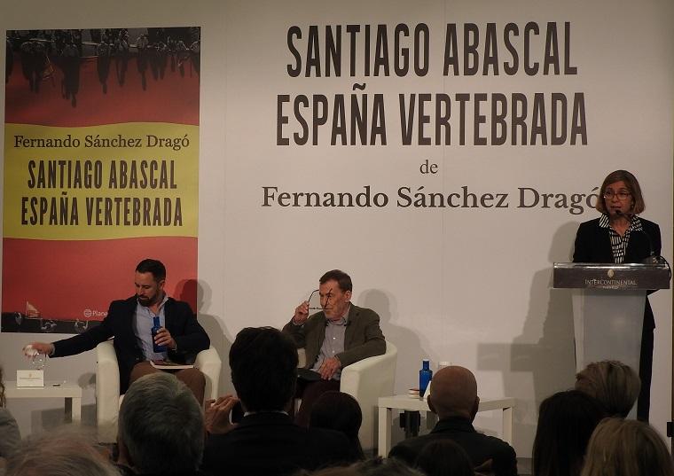 Santiago Abascal y Fernando Sánchez Dragó